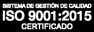 Certificado ISO 9001: 2015